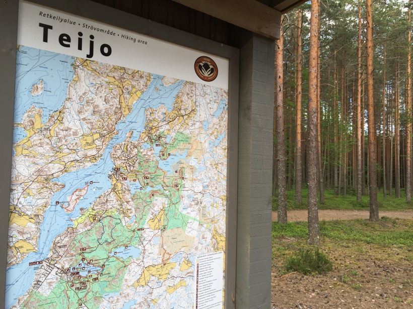 Teijon kansallispuisto, Miilunummen pysäköintipaikka